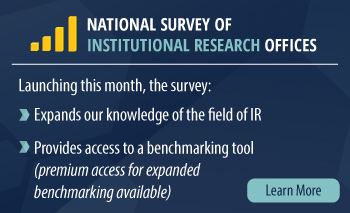 National Survey of Institutional Research Offices: Learn More