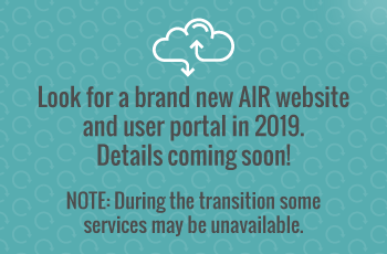 Brand-New AIR Website coming soon