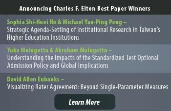 Charles F Elton Best Paper Award