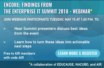 2018 Enterprise IT Summit Webinar