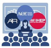 AIR, ACE & IHEP logos