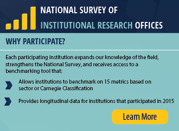National Survey of Institutional Research Offices