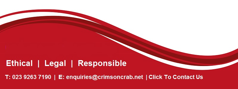 Crimson wave, a better way of doing business, ethical, legal and responsible.