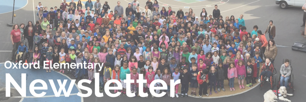 The Oxford Elementary eNewsletter! Ta da!