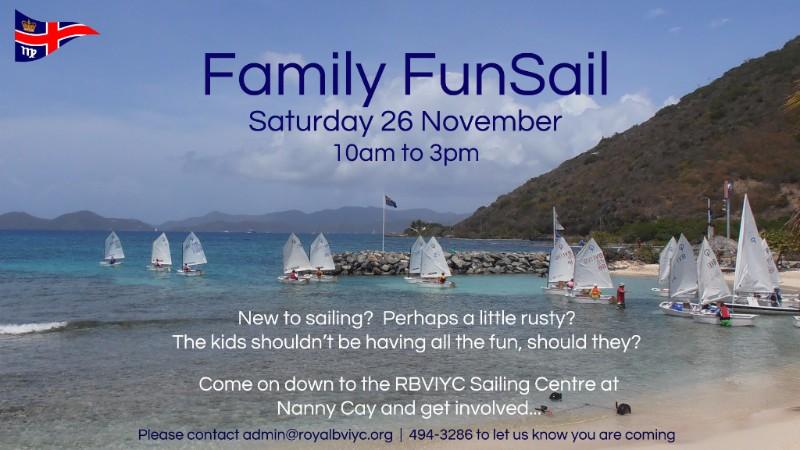 Family FunSail - November 26