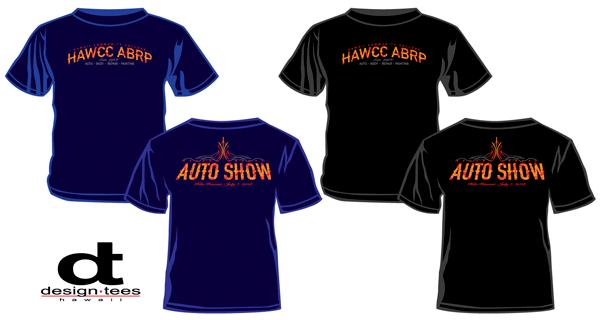 Hawaii CC Auto Show T-shirts