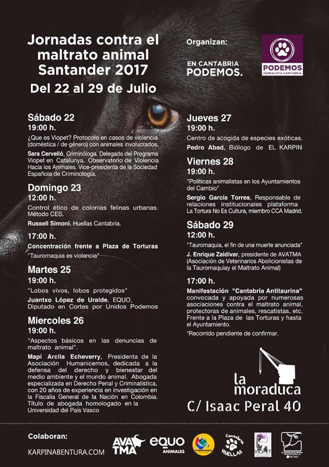 Jornadas sobre Maltrato Animal @ Santander | Santander | Cantabria | España