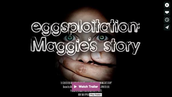 eggsploitation: Maggie's story