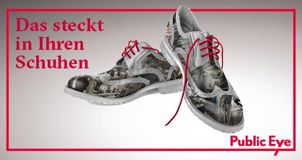 Der «Shoecreator»: Machen Sie mit bei unserer Kampagne!