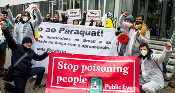 Stopp-Paraquat-Aktion in Bern