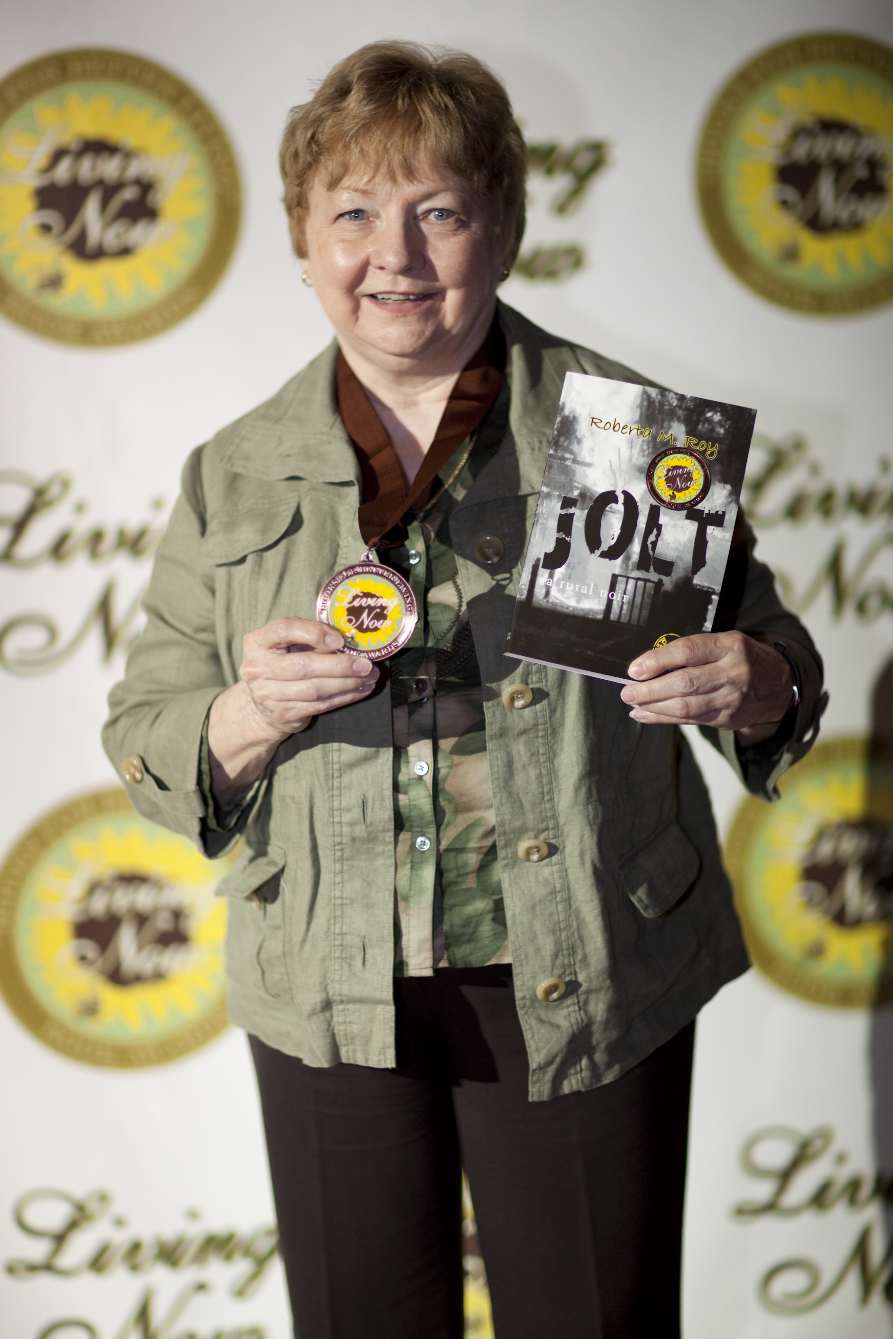 Roberta M Roy - Not too Proud! At the 2011 Living Now Awards