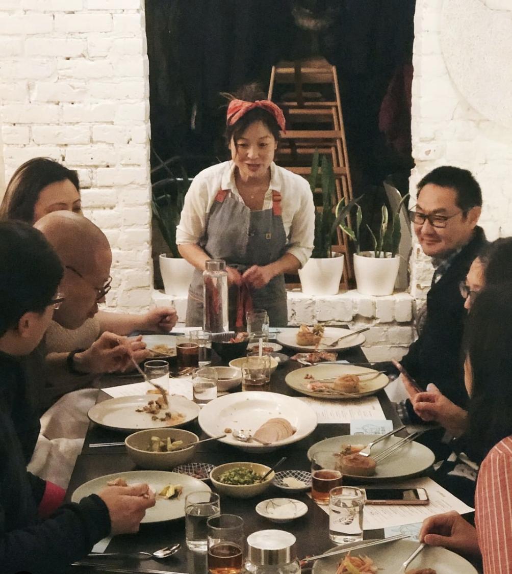 Chef MyThy Huynh at Miss Kim