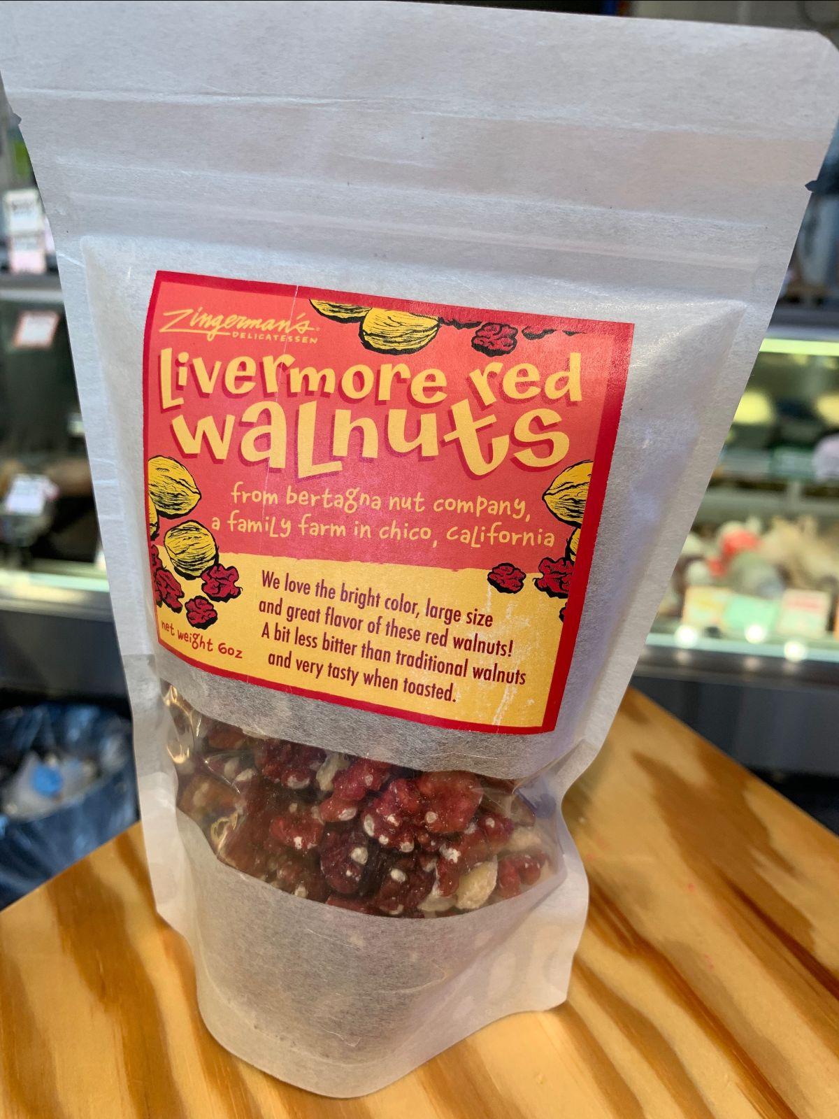 Livermore Red Walnuts at the Deli