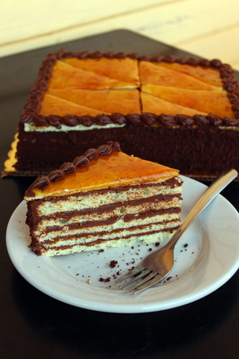 Dobos Torta from Zingerman's Bakehouse