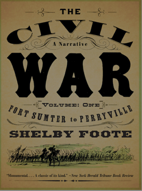 'The Civil War' by Shelby Foote