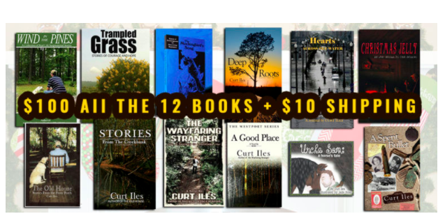 Covers of 12 Creekbank Books