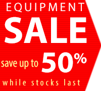 NHBS Equipment Clearance Sale