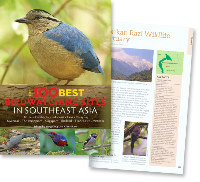 The 100 Best Bird Watching Sites in Southeast Asia