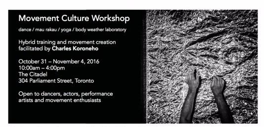 Movement Culture Workshop