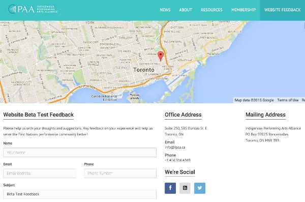 IPAA website beta version