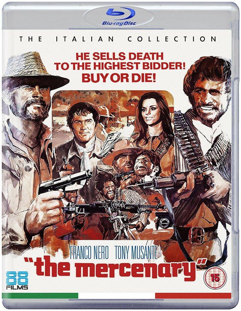 The Mercenary UK BluRay