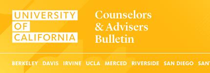 Counselors & Advisors Bulletin