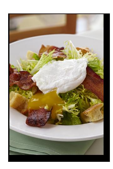 Pomme Frite's Lyonnaise Salad