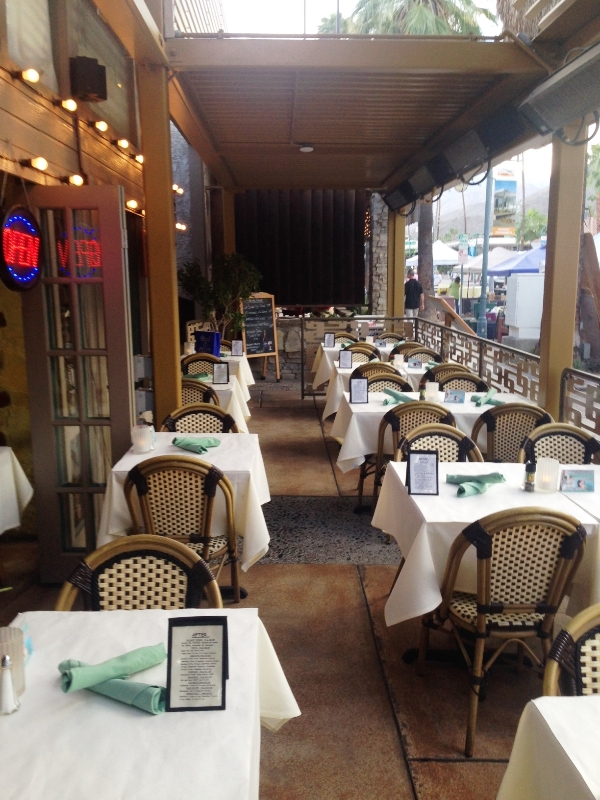 Pomme Frite's New Outdoor Patio