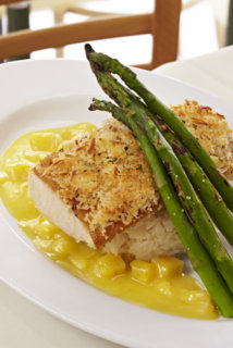 Pomme Frite's Mother's Day Prix Fixe Menu has Nut Crumble Sea Bass