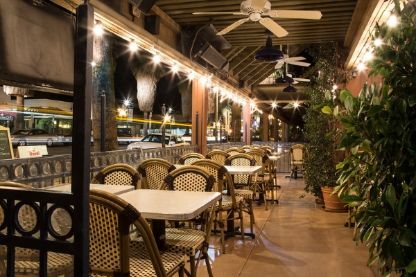 Pomme Frite's Award Winning Outdoor Patio