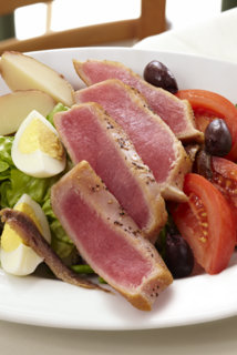 Salad Nicoise for Lunch at Pomme Frite
