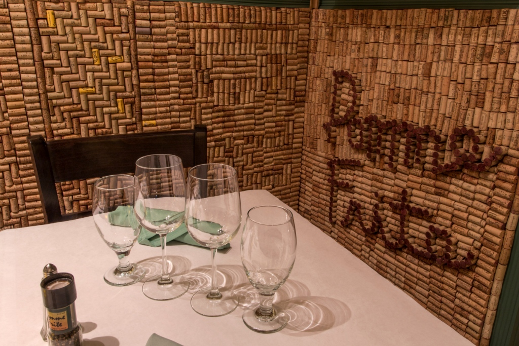 Pomme Frite's Private Cork Room