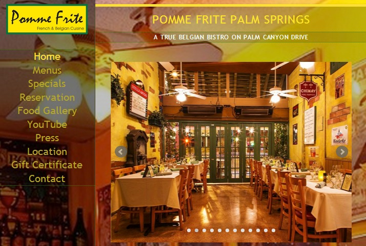 Welcome to Pomme Frite's new website!