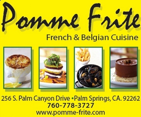 Sign up for Pomme Frite's Email Updates