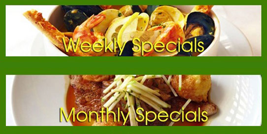 Pomme Frite's Monthly & Weekly Specials