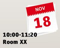10:00-11:20 Room XX