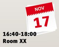 16:40-18:00 Room XX