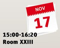 15:00-16:20 Room XXIII