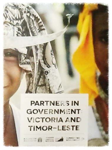 Partners in Government: Victoria and Timor-Leste