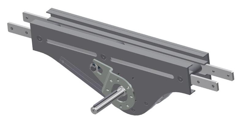 Mittenantrieb für Kettenförderer von modular automation