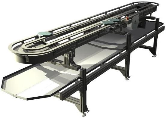 Paletten Fördersystem modular automation