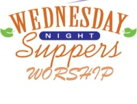 Wednesday night supper and worship