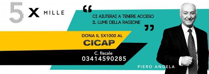 5x1000 al CICAP: codice fiscale 03414590285