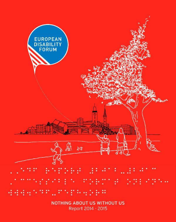 Cover of EDF report 2014-2015