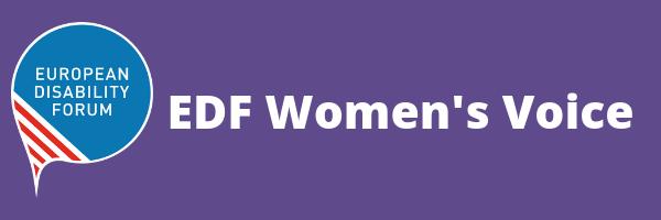 Banner of EDF Women's Voice