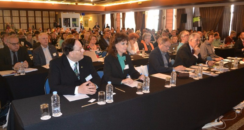 Participants at the conference on inclusive employment