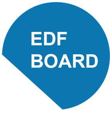 Logo of EDF Board
