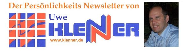 Der Persönlichkeits Newsletter von Uwe Klenner