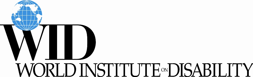 A logo for the World Institute on Disability