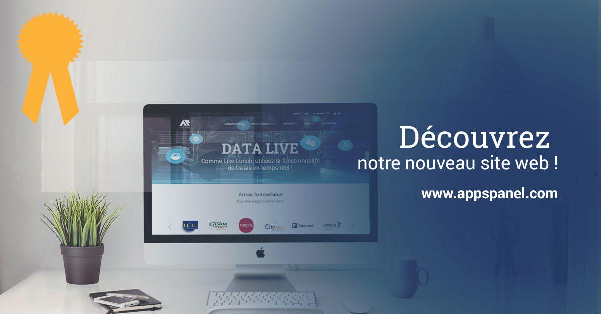 Nouveau site web Apps Panel